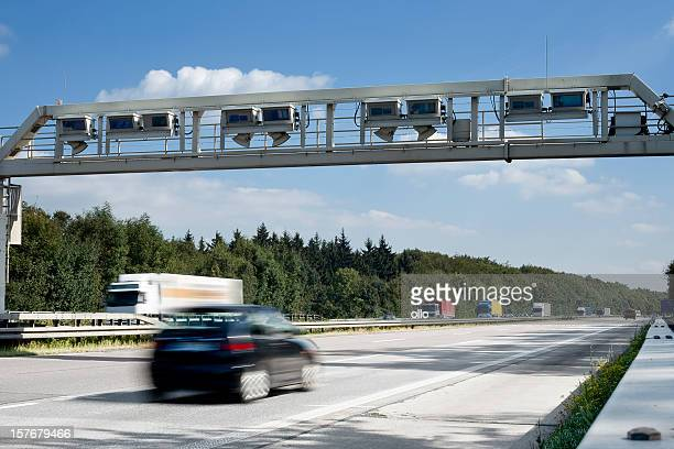 Camion Sistema di pedaggio autostradale, tedesco controllo gantry