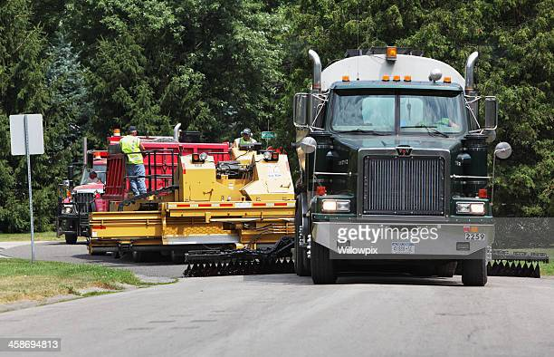 Trucks and Automated Road Resurfacing Equipment