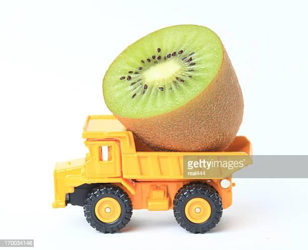 Trucks and kiwi
