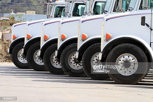 Les camions réuni