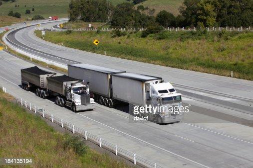 Trucks Overtaking