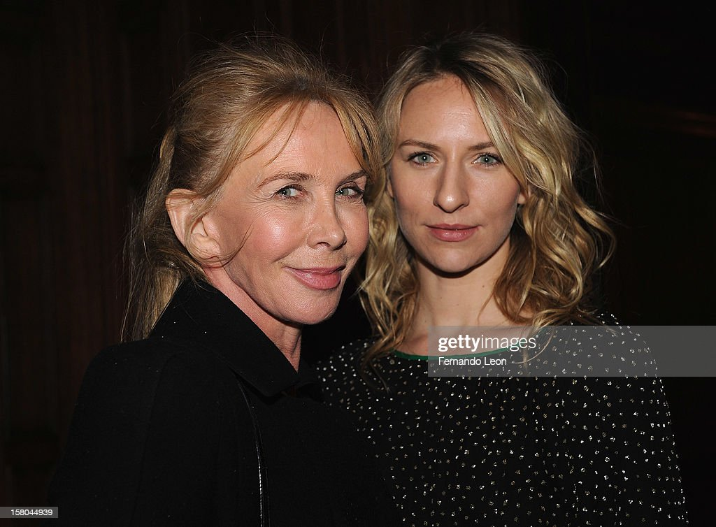 <a gi-track='captionPersonalityLinkClicked' href=/galleries/search?phrase=Trudie+Styler&family=editorial&specificpeople=203268 ng-click='$event.stopPropagation()'>Trudie Styler</a> and Mickey Sumner (R) attend The Cinema Society With Chrysler & Bally Host The Premiere Of 'Stand Up Guys' After Party at The Plaza Hotel on December 9, 2012 in New York City.