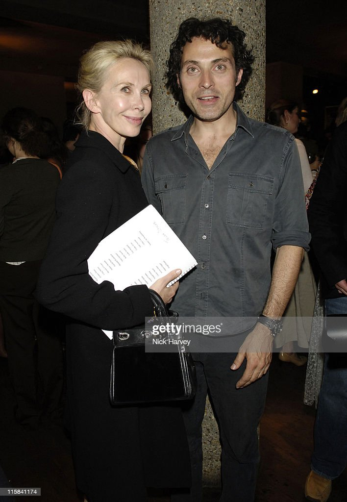 Trudie Styler and Rufus Sewell during Cries from the Heart 2006: A Celebration of Voices for Justice in Support of Human Rights Watch June 18, 2006 at Cries from the Heart, 2006, a celebration of voices for justice in London, Great Britain.