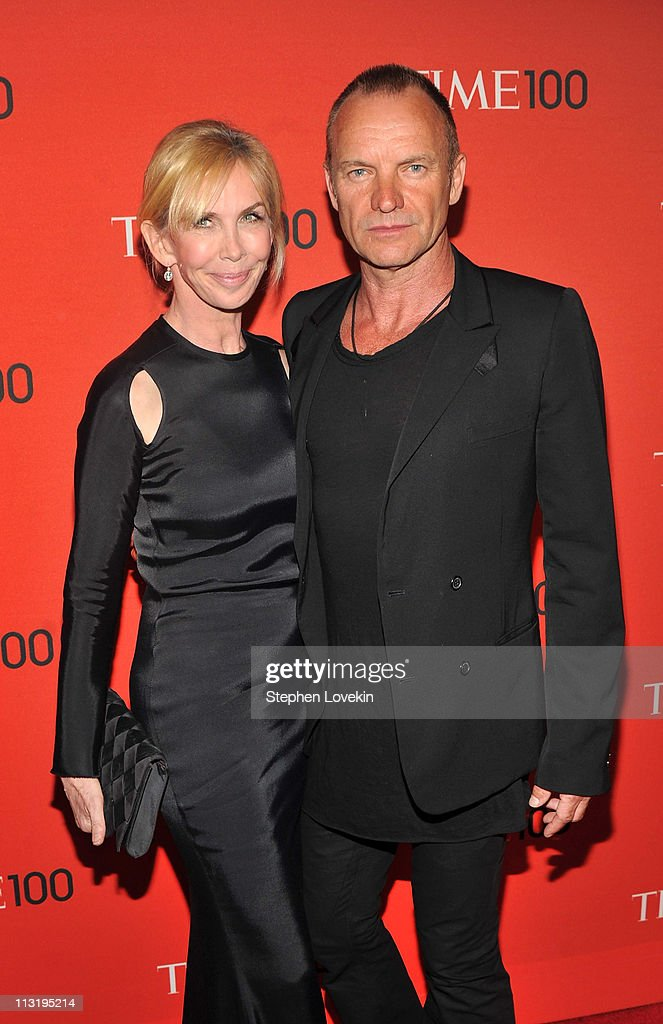 <a gi-track='captionPersonalityLinkClicked' href=/galleries/search?phrase=Trudie+Styler&family=editorial&specificpeople=203268 ng-click='$event.stopPropagation()'>Trudie Styler</a> and Sting attend the TIME 100 Gala, TIME'S 100 Most Influential People In The World at Frederick P. Rose Hall, Jazz at Lincoln Center on April 26, 2011 in New York City.