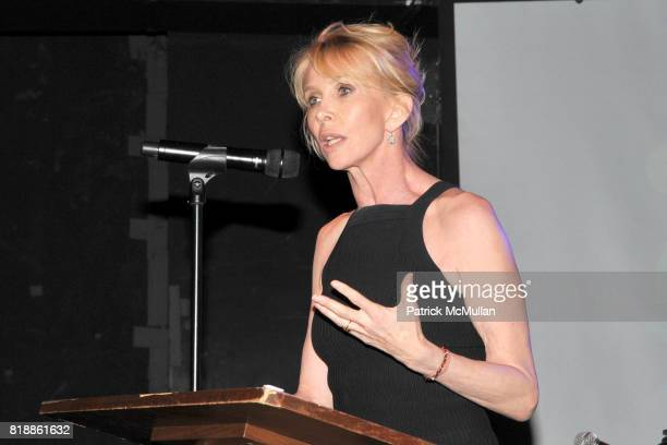 Trudie Styler attends RAINFOREST ACTION NETWORK's 25th Anniversary Benefit Hosted by CHRIS NOTH at Le Poisson Rouge on April 29 2010 in New York City