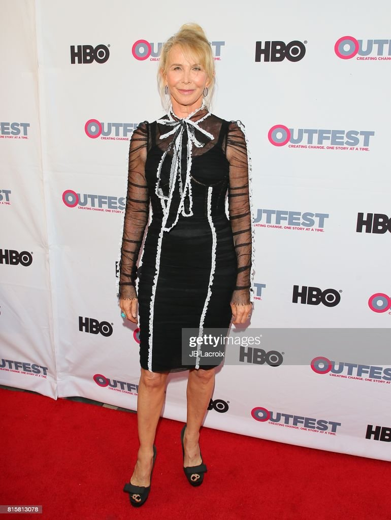 Trudie Styler attends the 2017 Outfest Los Angeles LGBT Film Festival - Closing Night Gala Screening Of ''Freak Show' on July 16, 2017 in Los Angeles, California.
