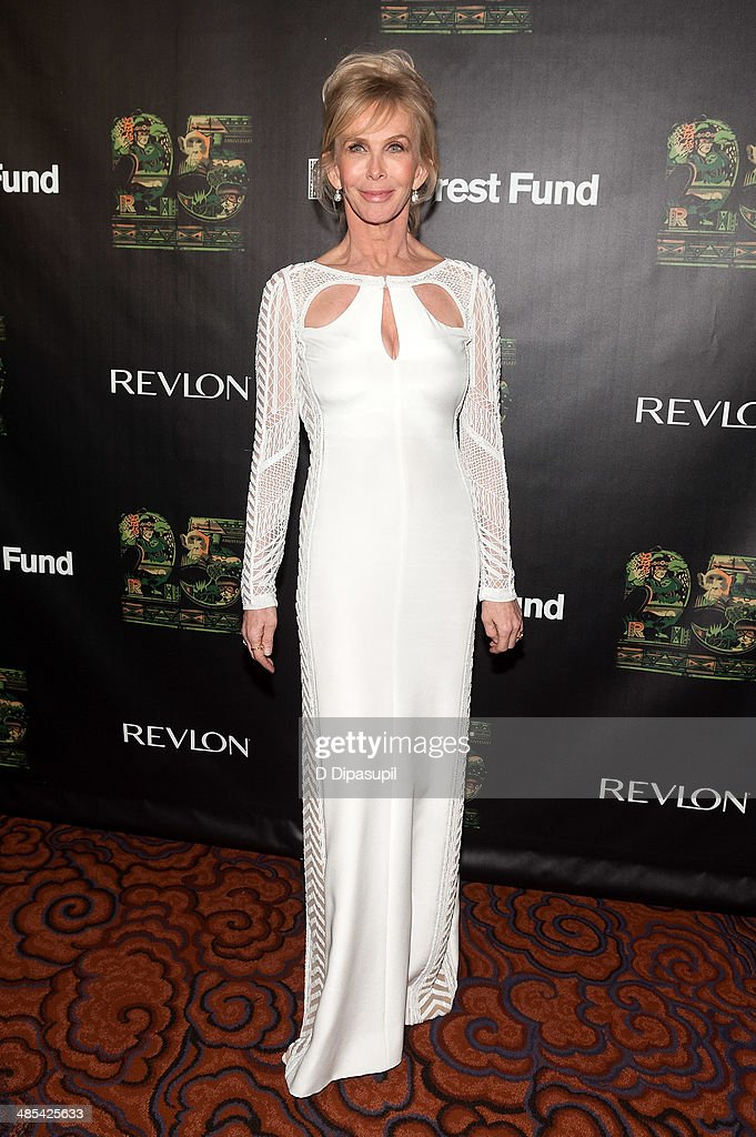 <a gi-track='captionPersonalityLinkClicked' href=/galleries/search?phrase=Trudie+Styler&family=editorial&specificpeople=203268 ng-click='$event.stopPropagation()'>Trudie Styler</a> attends the after party for the 25th Anniversary concert for the Rainforest Fund at the Mandarin Oriental Hotel on April 17, 2014 in New York City.