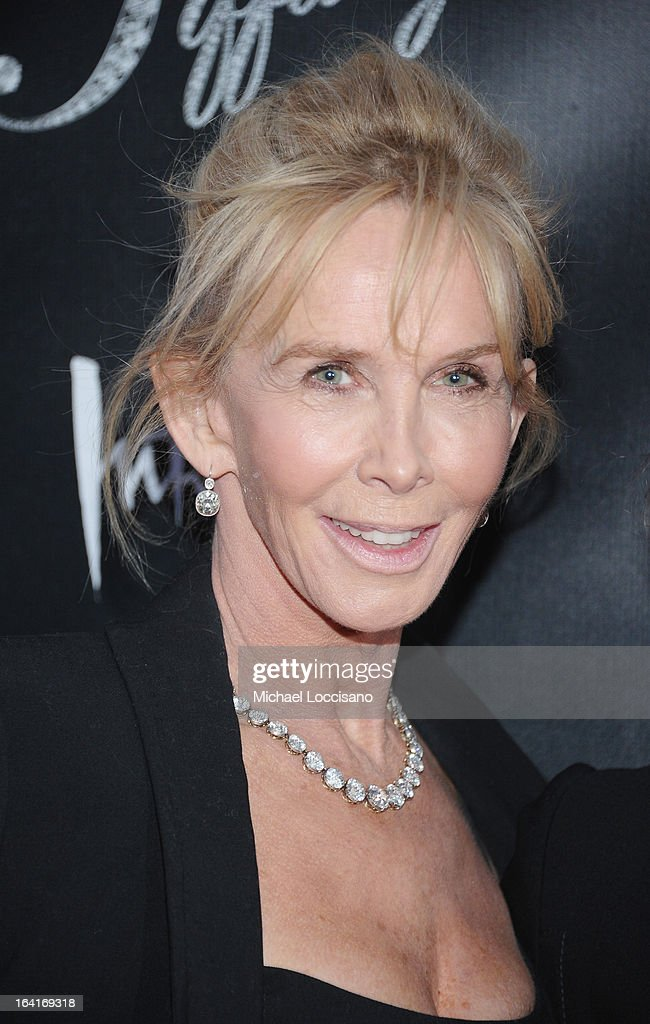 Trudie Styler attends the 'Breakfast At Tiffany's' Broadway Opening Night at Cort Theatre on March 20, 2013 in New York City.