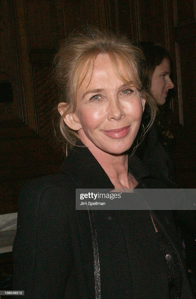 Trudie Styler attends The Cinema Society With Chrysler & Bally Host The Premiere Of 'Stand Up Guys' After Party at The Plaza Hotel on December 9, 2012 in New York City.