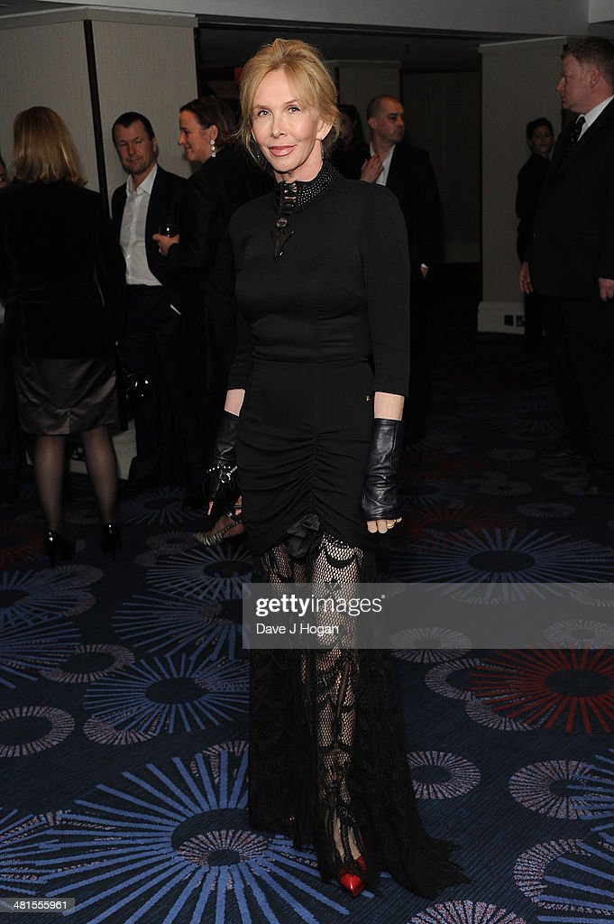 Trudie Styler attends the Jameson Empire Film Awards 2014 at The Grosvenor House Hotel on March 30, 2014 in London, England.