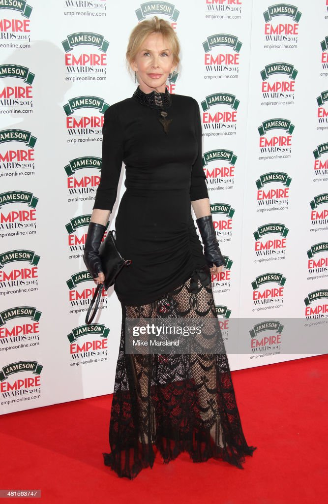 Trudie Styler attends the Jameson Empire Film Awards at Grosvenor House, on March 30, 2014 in London, England.