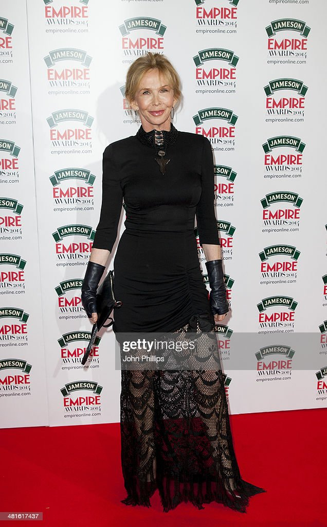 Trudie Styler attends the Jameson Empire Film Awards at The Grosvenor House Hotel on March 30, 2014 in London, England.