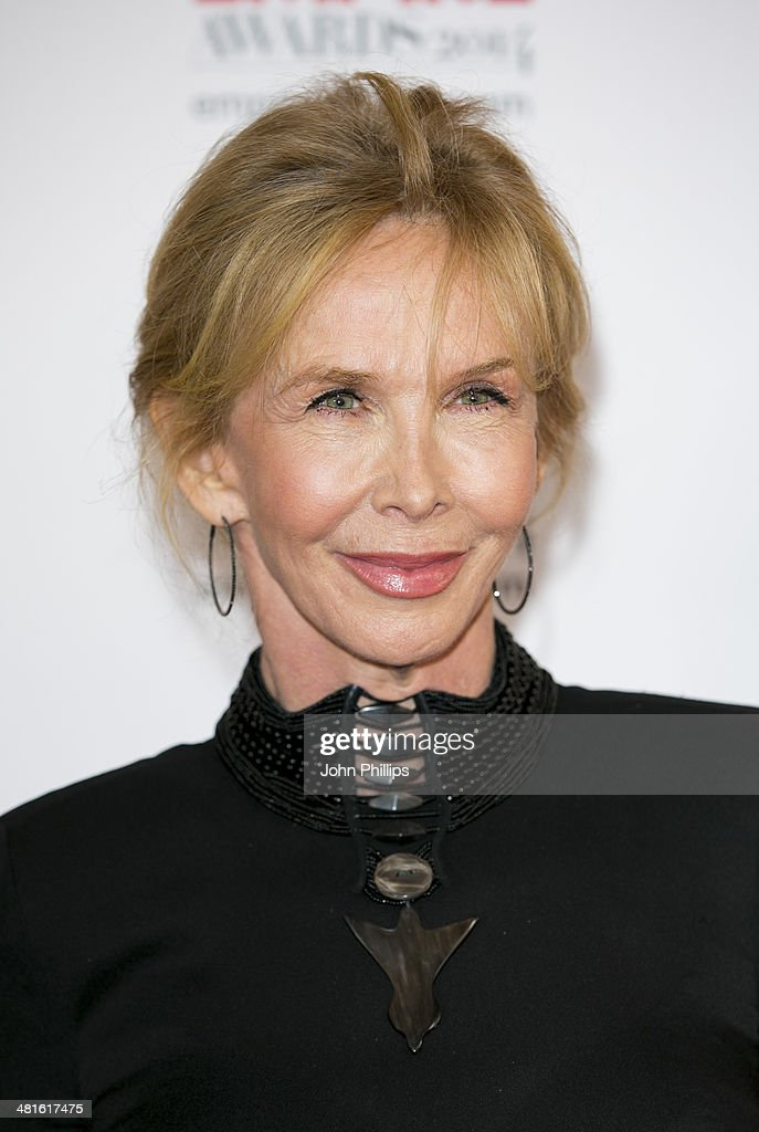 <a gi-track='captionPersonalityLinkClicked' href=/galleries/search?phrase=Trudie+Styler&family=editorial&specificpeople=203268 ng-click='$event.stopPropagation()'>Trudie Styler</a> attends the Jameson Empire Film Awards at The Grosvenor House Hotel on March 30, 2014 in London, England.
