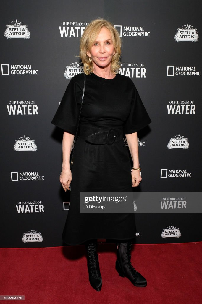 Trudie Styler attends the 'Our Dream of Water' New York premiere at Metrograph on March 6, 2017 in New York City.