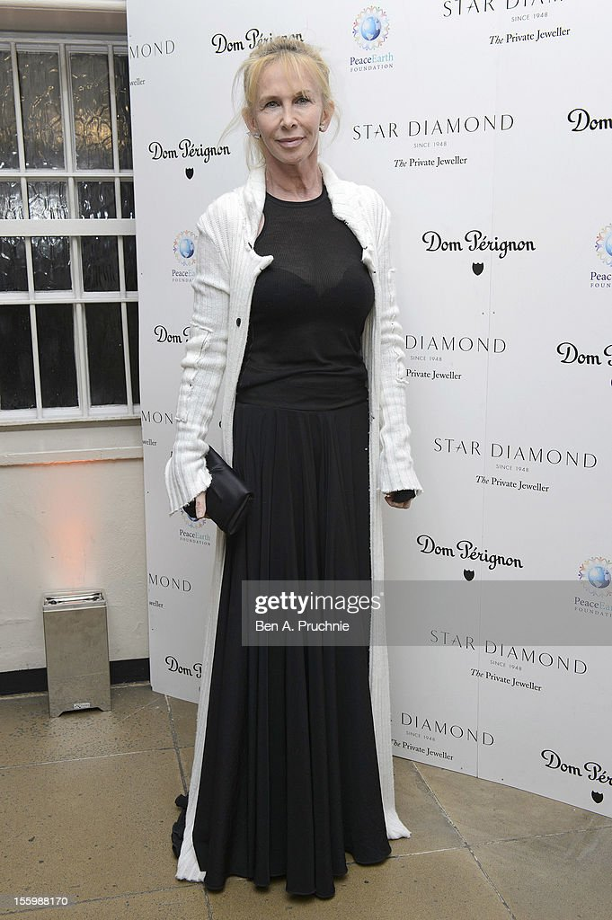 Trudie Styler attends the PeaceEarth foundation fundraising gala at Banqueting House on November 10, 2012 in London, England.