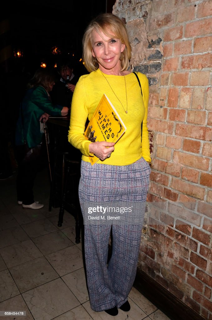 Trudie Styler attends the press night after party for 'The Wipers Times' at Salvador & Amanda on March 27, 2017 in London, England.
