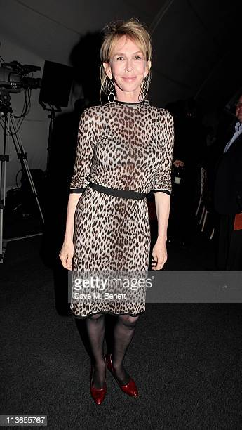 Trudie Styler attends Ubuntu Gala Healthy Bodies Inspired Minds Bright Futures benefiting the Ubuntu Eduction Fund at Battersea Power station on May...