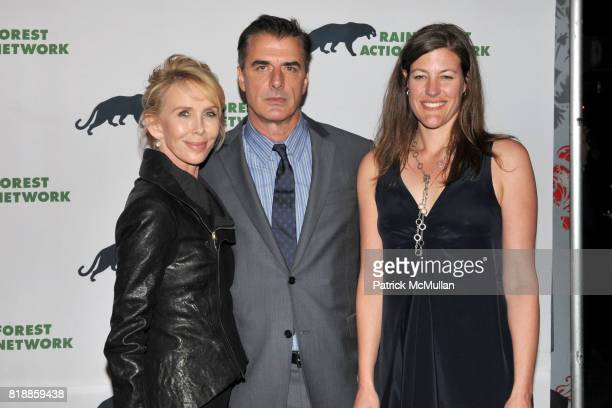 Trudie Styler Chris Noth and Rebecca Tarbotton attend RAINFOREST ACTION NETWORK's 25th Anniversary Benefit Hosted by CHRIS NOTH at Le Poisson Rouge...