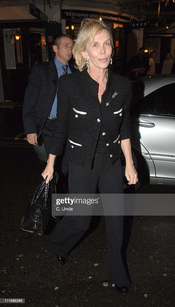Celebrity Sightings at The Ivy in London - March 8, 2006