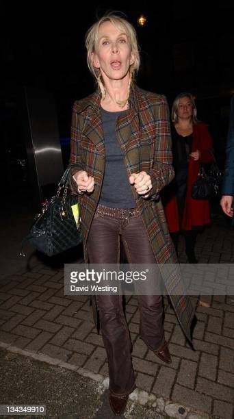 Trudie Styler during Trudie Styler Sighting in London November 24 2006 at Loconda Locatell in London Great Britain