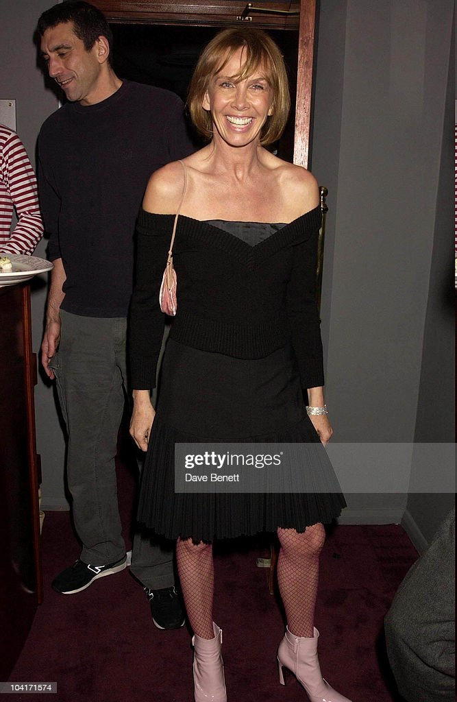 Trudie Styler, The Singing Detective Movie Premiere At The Everyman Theatre In Hampstead, London