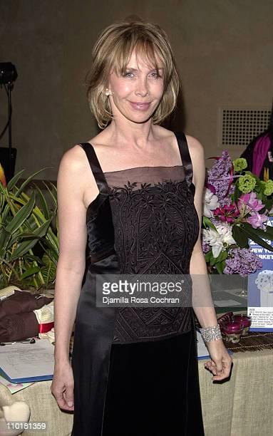 Trudie Styler wearing Alberta Ferretti during Tru Gems Rainforest Us Benefit Sponsored By Piaget To Honor Trudie Styler at Manhattan Center in New...