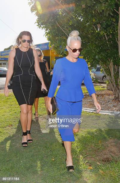 Trudy Todd arrives at Tweed Heads Local court on June 2 2017 in Gold Coast Australia Mercedes Corby is challenging an apprehended violence which was...