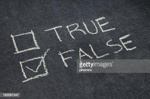 True or False Checkbox