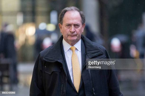 Truett Tate former head of wholesale banking at Lloyds Banking Group Plc arrives to testify in the trial looking into the 2009 acquisition of HBOS...