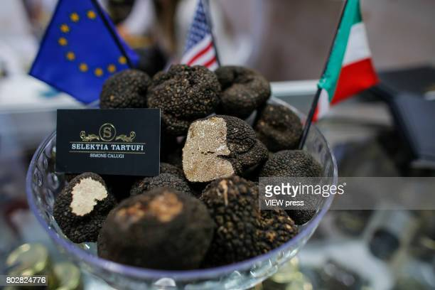 Truffles are displayed at the Annual Summer Fancy Food Show on June 262017 at the Javits Center in New York City