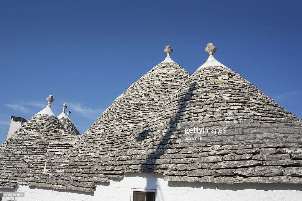 Trulli Alberobello Puglia,  Italy : Stock Photo