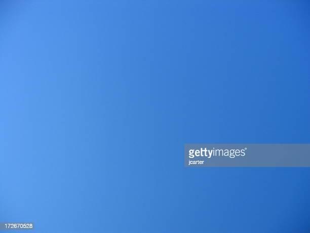 Realmente cielo azul