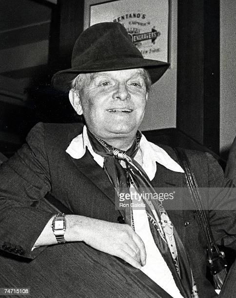Truman Capote at the Brentano's Bookstore in New York City New York