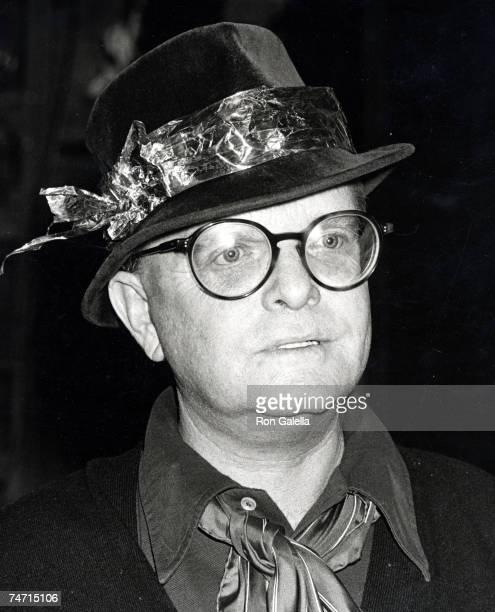 Truman Capote at the Studio 54 in New York City New York