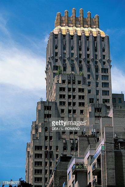 Trump Parc designed by Lawrence Emmons Manhattan New York New York United States