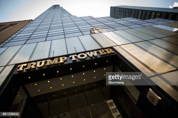 Trump Tower stands in New York US on Thursday June 1 2017 Two Chinese labor activists were reported missing with a third detained by police while...
