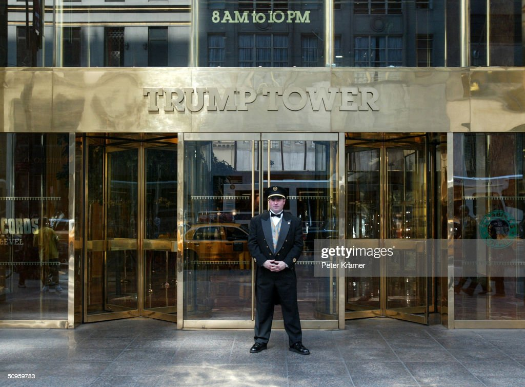 Trump Towers on Fifth Avenue June 14 2004 in New York City