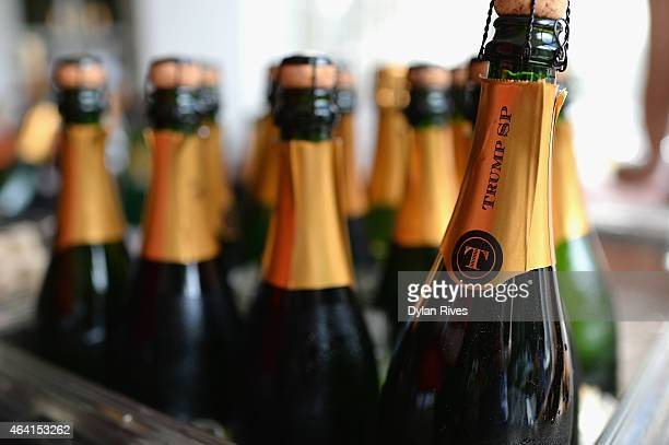 Trump winery on display at Farm To Table Brunch presented by Whole Foods Market hosted by Geoffrey Zakarian Julie Frans Friends during the 2015 Food...