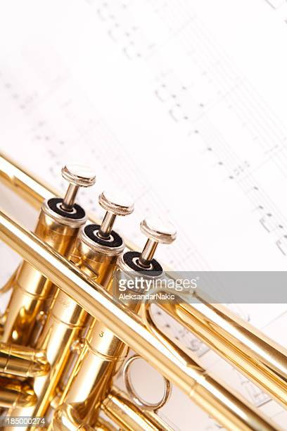 Trumpet and notes