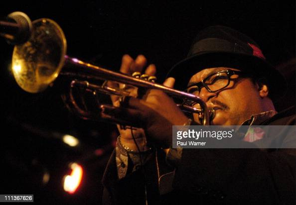 Trumpet player Nicholas Payton performs with the Bitches Brew 40th Anniversary Band during the 2011 Miles Davis Festival at Martyr's on March 31 2011...