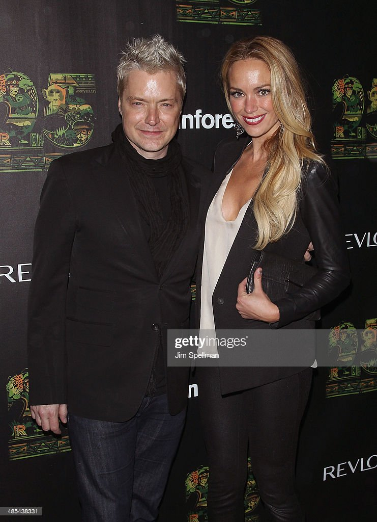 Trumpeter Chris Botti attends the 25th Anniversary Rainforest Fund Benefit at Mandarin Oriental Hotel on April 17, 2014 in New York City.
