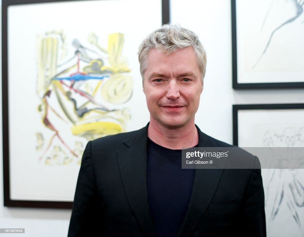 Trumpeter <a gi-track='captionPersonalityLinkClicked' href=/galleries/search?phrase=Chris+Botti&family=editorial&specificpeople=223897 ng-click='$event.stopPropagation()'>Chris Botti</a> attends the Miles Davis Collected Artwork Lauch Party at Mr. Musichead Gallery on November 7, 2013 in Los Angeles, California.