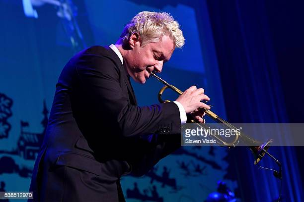 Trumpeter Chris Botti performs onstage during SeriousFun Children's Network 2016 NYC Gala Show on June 6 2016 in New York City