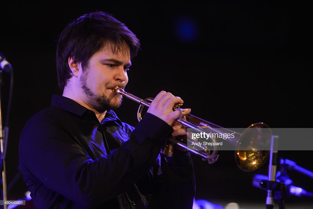 Trumpeter Verneri Pohjola performs on stage during day 4 of London Jazz Festival at South Bank Centre on November 18, 2013 in London, United Kingdom.