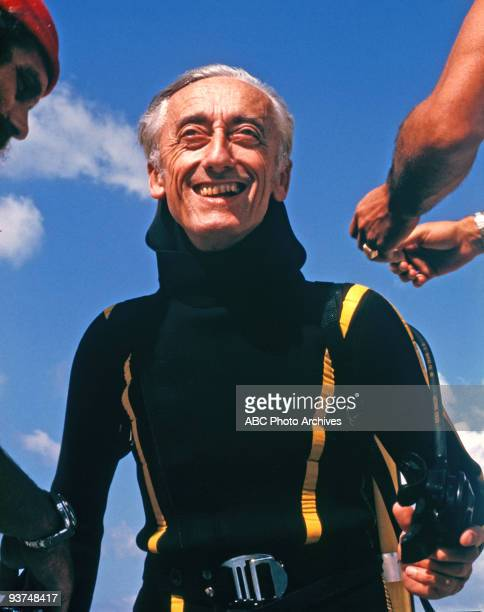 COUSTEAU 'Trunk' 9/29/70 Chronicles the exotic undersea explorations of JacquesYves Cousteau and his crew aboard the exRoyal Navy minesweep The...