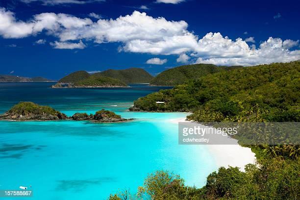 トランクベイビーチ、セントジョン、米領バージン諸島