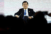 Truong Tan Sang Vietnam's president attends the AsiaPacific Economic Cooperation CEO Summit in Manila the Philippines on Tuesday Nov 17 2015...