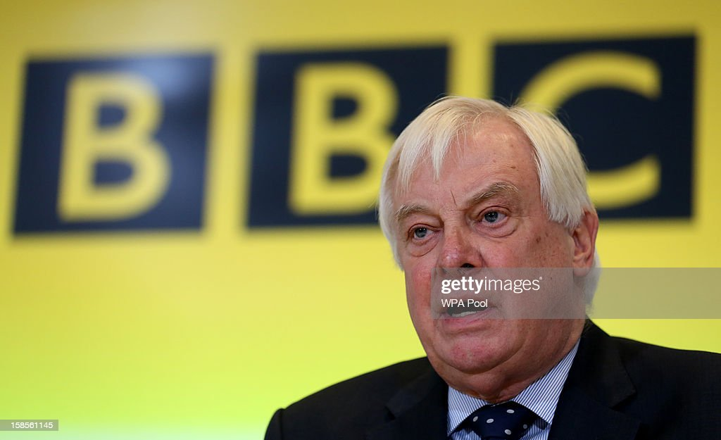 Trust Chairman Lord Patten responds to questions about the Pollard Report during a press conference at BBC Broadcasting House on December 19, 2012 in London, England. The BBC Trust has announced the findings of the Pollard Report into the corporation's handling of sexual abuse allegations against former employee Jimmy Savile. Among the findings were that former Director-General George Entwistle failed to heed warnings relayed to him via email of Savile's 'dark side'.
