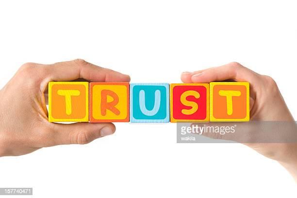 Trust in hands