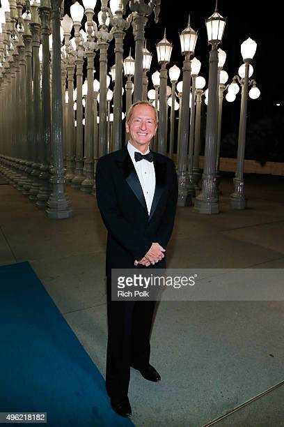 Trustee David Bohnett attends LACMA 2015 ArtFilm Gala Honoring James Turrell and Alejandro G Iñárritu Presented by Gucci at LACMA on November 7 2015...